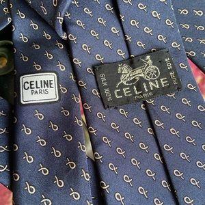 CELINE  Paris men's Tie Authentic Lk new